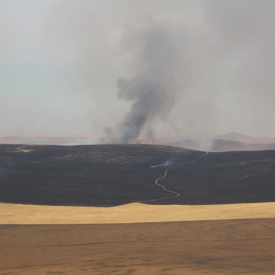 Улсын хэмжээнд гурван газар том хэмжээний түймэртэй байна