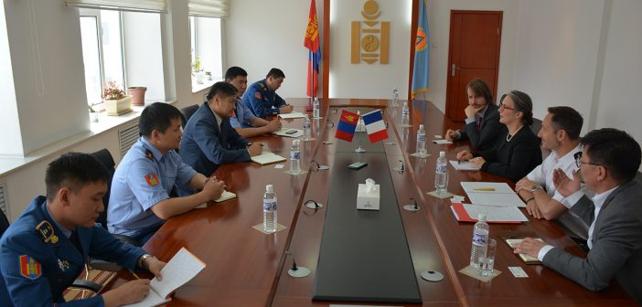БНФУ-аас Монгол Улсад суугаа Онц бөгөөд Бүрэн эрхт Элчин сайдыг хүлээн авч уулзлаа