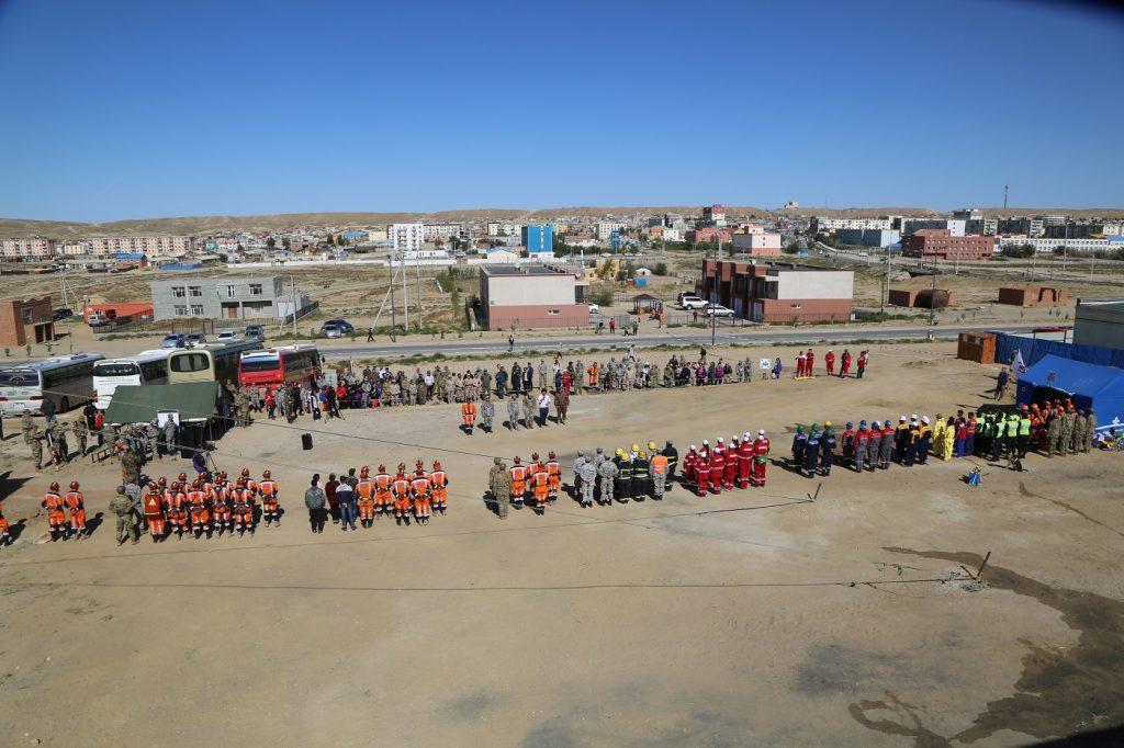 Монгол, Америкийн аврагчид хамтарсан дадлага сургууль хийлээ