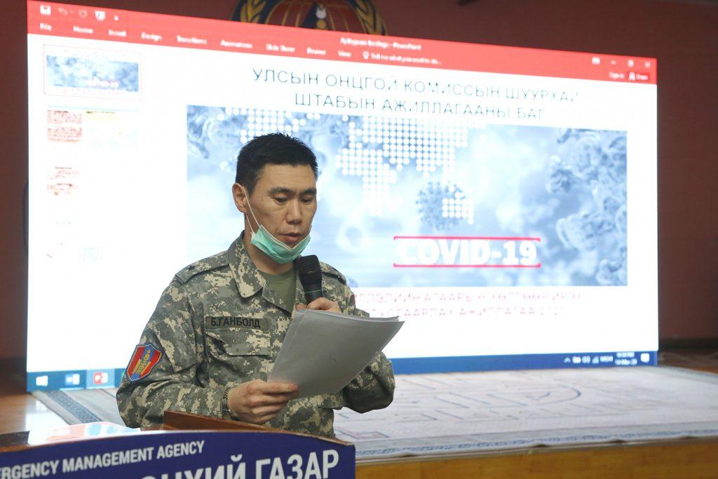 """J1A7844-1024x683 """"Шуурхай штаб""""-ын бүрэлдэхүүн 24 цагаар ажиллаж байна"""
